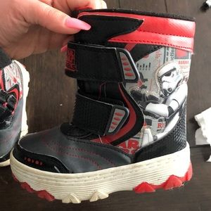 Other - Star Wars  light up snow boots